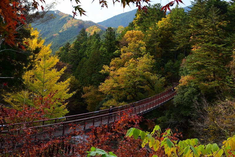 秋の石船橋